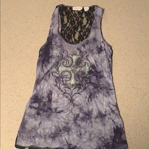 Miss Me tank top size large